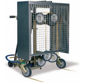 Máy cắt bê tông dây kim cương hiệu suất cao 3-10M2/giờ