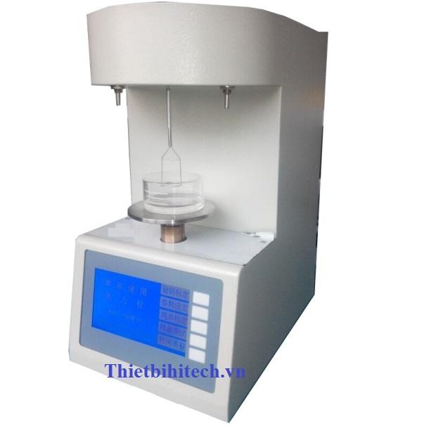 Phạm vi đo: 2 100 millinewton / mét. Độ nhạy: 0,1 mN / m