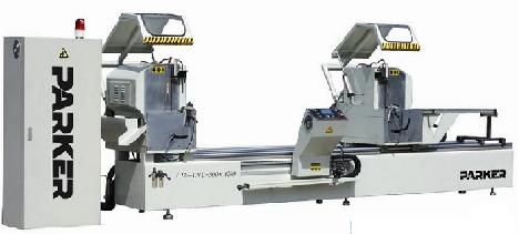 Máy cắt nhôm 2 đầu CNC: LJZ2-CNC-G500×4200