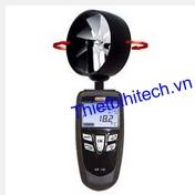 Máy đo tốc độ gió, lưu lượng gió, nhiệt độ Kimo LV 130E