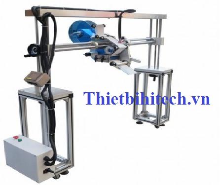 Máy dán nhãn sản phẩm theo dây chuyển sản xuất