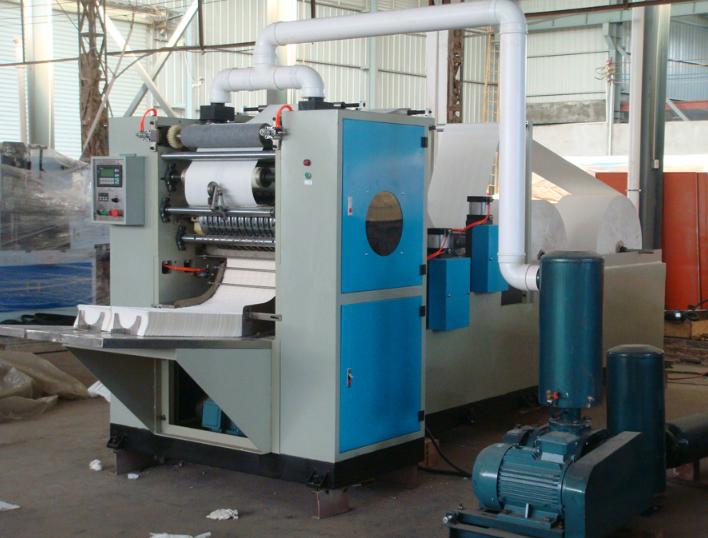 Máy sản xuất giấy ăn tự động kiểu V