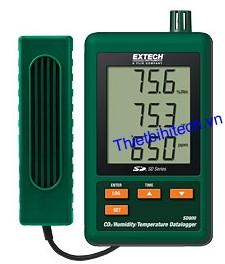 Lốc dữ liệu nhiệt độ, độ ẩm CO2