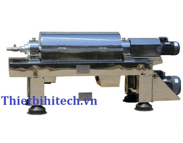 Máy ly lọc ly tâm tách pha rắn lỏng 35M3/H