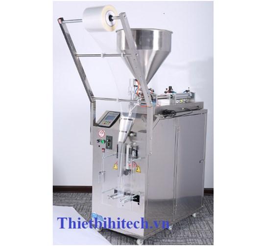 Máy đóng gói dầu gội đầu, máy đóng gói dung dịch gel, máy đóng gói nước sốt kiểu ba biên 20-60 sản phẩm/phút