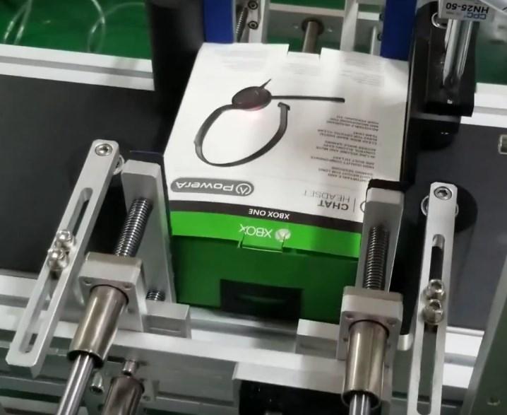 Máy dán nhãn bốn mặt hình hộp, Năng suất 40-80 sản phẩm/phút