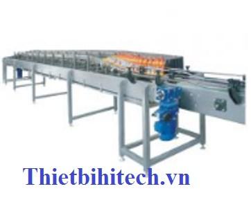 Hệ thống tiệt trùng chai ngược15000 sản phẩm/giờ