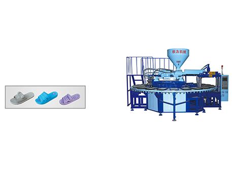 Dây truyền sản xuất dép một màu