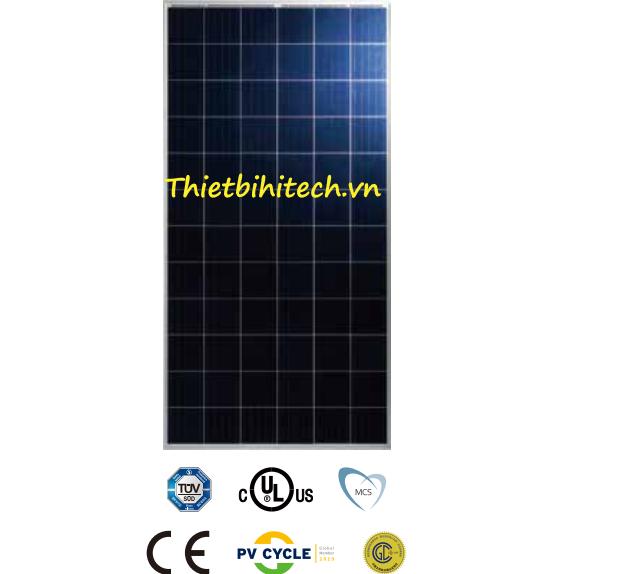 Tấm pin năng lượng mặt trời đa tinh thể 345W