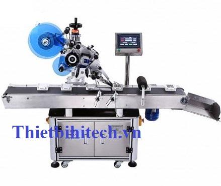 Máy dán nhãn nắp hộ, lắp chai lọ tự động, Năng suất máy 40-120 sản phẩm/phút