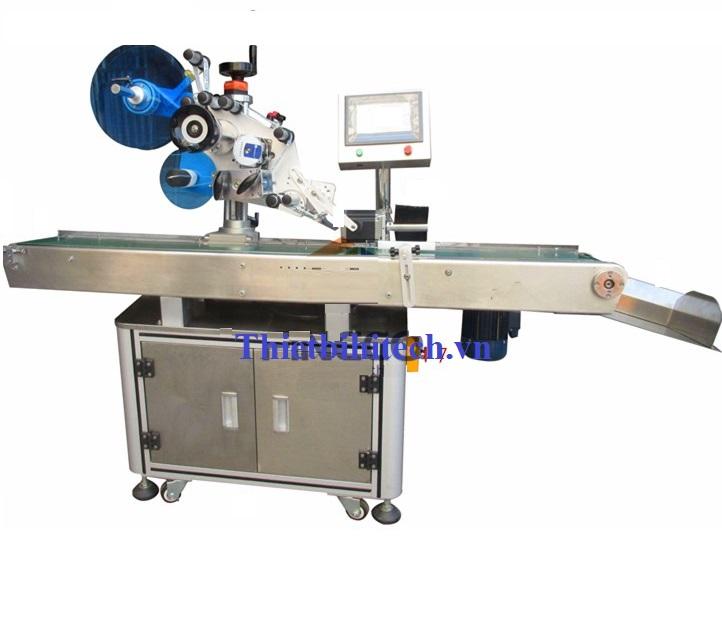 Máy dán nhãn liêm phong chống giả máy dán nhãn góc hai cạnh, Năng suất máy 40-80 sản phẩm/phút