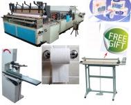 Dây chuyền sản xuất giấy cuộn bán tự động giá rẻ
