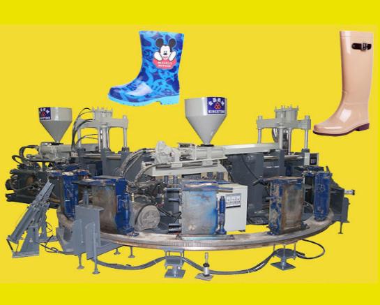 Dây truyền sản xuất ủng nhựa Boot Making Machine