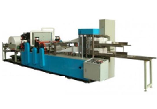 Máy gấp giấy napkin tốc độ cao 800-1000 tờ/phút
