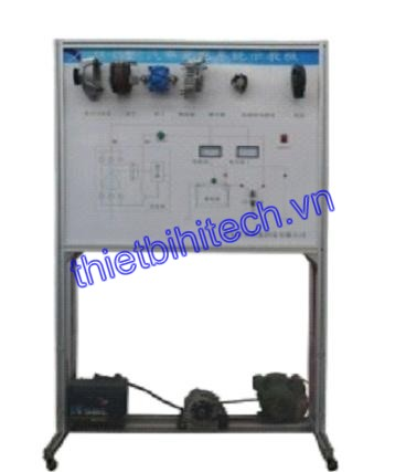 vehicle charging system teaching board