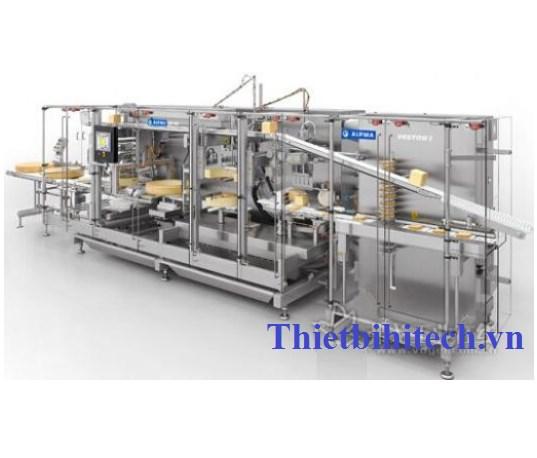 Dây chuyền sản xuất bánh phô mai 100-1000kg/giờ