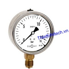 Đồng hồ đo áp suất MR20 F100