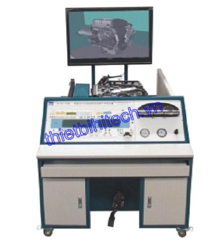 intelligent car engine practice teaching evaluation device