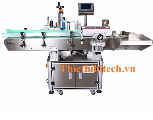 Máy dán nhãn chai tròn tự động, Năng suất 30-120 sản phẩm/phút