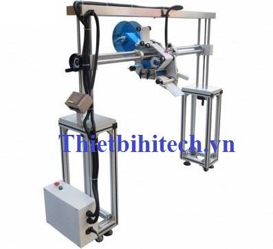 Máy dán nhãn dây chuyền sản xuất kiểm khung U tự động