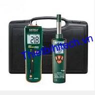 Máy đo độ ẩm gỗ và môi trường EXTECH MO260-RK - Bộ KIT