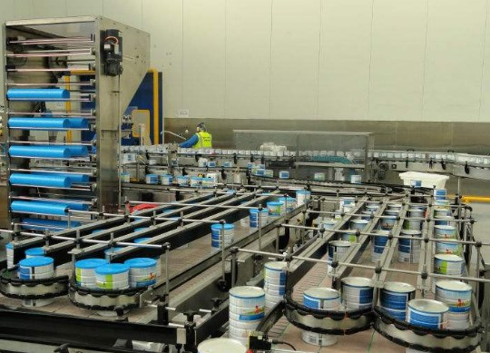 Dây chuyền sản xuất sữa bột 500-5000 kg/giờ