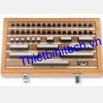 Bộ căn mẫu chuẩn gồm 32 khối chuẩn cấp 1 Horex, 2662102