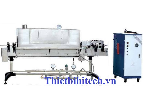 Máy co màng nhãn hơi nước, năng suất 100-50000 sản phẩm/phút