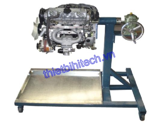 Liuzhou Wuling engine disassembly overturning rack