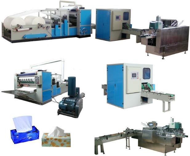 Dây chuyền sản xuất giấy tissue hộp trọn bộ dây truyền giá ưu đãi