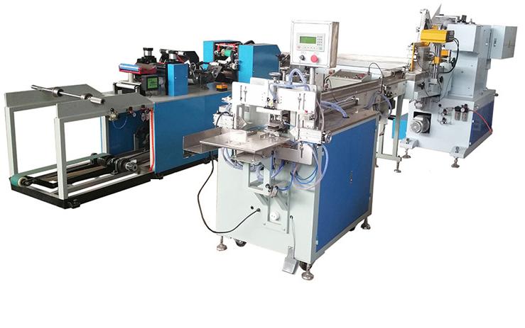 Dây chuyền sản xuất giấy lụa đóng túi mini 75x52mm năng suất 405-1100 tấm/phút