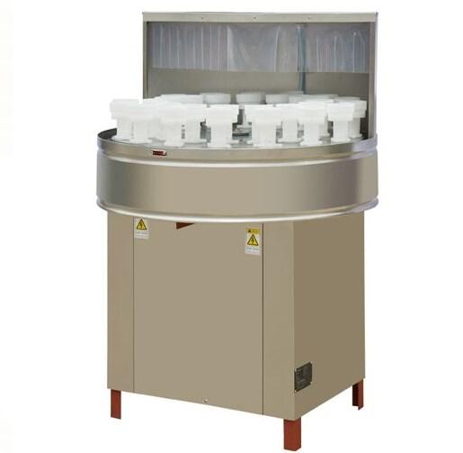 Máy rửa chai lọ bán tự động, 1500 chai/giờ